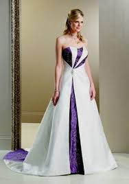 purple white wedding dress white and purple wedding dress purple and white wedding dress with
