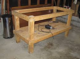 easy to build workbench building a woodworking bench
