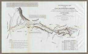 Map Of Oregon Trail by Map Of The Road From Missouri To Oregon Section Iv David