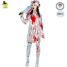 chef costume bloody chef costume bloody butchers dress for