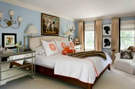 White Curtains With Blue Trim Decorating Tan And Orange Curtains Design Ideas