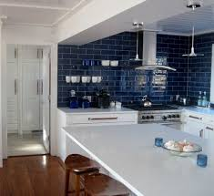 blue tile backsplash kitchen backsplash ideas awesome blue kitchen backsplash tile blue