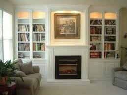 Built In Electric Fireplace Electric Fireplace With Bookshelves Open Travel
