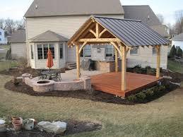 Patio Backyard Ideas by Best 25 Backyard Pavilion Ideas On Pinterest Backyard Kitchen