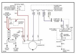 2001 ford focus alternator wiring diagram wiring diagram and