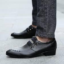 wedding shoes korea free shipping popular korean tide brogue leather shoes men