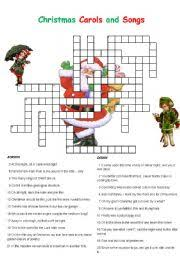 english teaching worksheets christmas crosswords