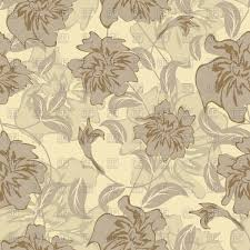 seamless floral pattern vintage colours wallpaper vector clipart