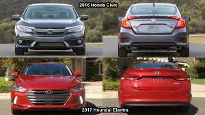 honda civic or hyundai elantra benim otomobilim 2017 hyundai elantra vs 2016 honda civic sedan