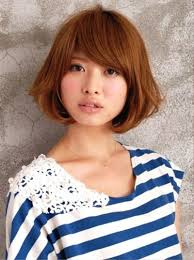 pictures of short brown japanese haircut