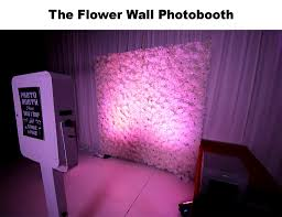 photo booth rental nj flower wall photo booth new jersey new york s wedding dj nj ny