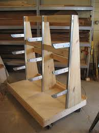 Building Wood Shelves Garage by 93 Best Workshop Lumber Racks Images On Pinterest Garage