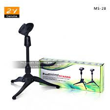 microphone de bureau noir réglable en plastique de bureau table bureau table top stand