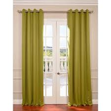 Moss Green Curtains Exclusive Fabrics Furnishings Semi Opaque Moss Green Grommet
