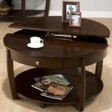 Riverside Coffee Table Pie Shaped Lift Top Coffee Table Foter