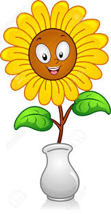 A Flower Vase 3 198 Clipart Sunflower Stock Illustrations Cliparts And Royalty