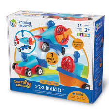 learning resources 1 2 3 build it building blocks for kids ler2840