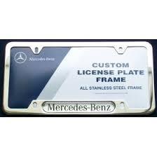 mercedes license plate holder mercedes accessories