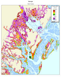 County Map Ga More Sea Level Rise Maps Of Georgia