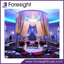 wedding backdrop lighting kit truss stand modular exhibition booth backdrop pipe and drape for