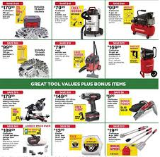 home depot black friday 2016 ad sears black friday 2016 tool deals