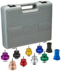 amazon com atd tools 3305 10 piece radiator pressure tester