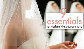 wedding dress shopping 9 essentials for wedding dress shopping