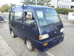 subaru sambar van roots japan stock