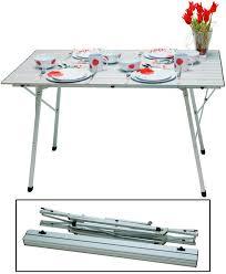 tavola pieghevole tavola pieghevole euromarine alluminio 4 persone