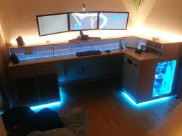 Schreibtisch F Zuhause Pc Schreibtisch Selber Bauen Bemerkenswert Auf Dekoideen Fur Ihr