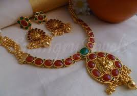 jewelry designs necklace sets images Kemp temple necklaces and earring set jewellery designs smingry jpg