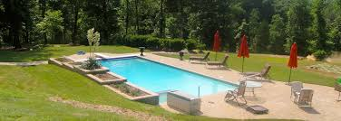 Swimming Pool In Backyard by Inground Swimming Pools In Virginia Poolworks