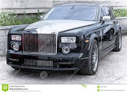 phantom car car rich rolls royce phantom royalty free stock image image