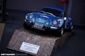 renault alpine a110 rally getting high on alpine stars speedhunters