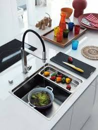 Kitchen Sink Used In Minimalist Prep Area Kitchen Sink Simply - Simply kitchen sinks