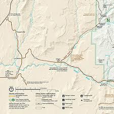 map of zion national park maps zion national park u s national park service