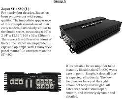 zapco st 4x sq 380w 4 channel class ab amplifier rubyserv