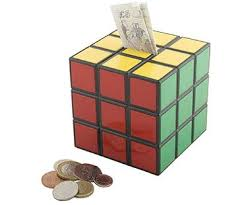 money box rubik s cube money box