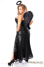 Corset Halloween Costumes Size Drawer Size Premium Dark Angel Corset Costume