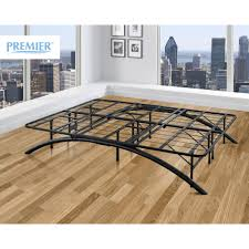 Design For Platform Bed Frame by Premier Ellipse Arch Platform Bed Frame Black Multiple Sizes