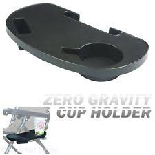 Table Cup Holder Lounge Chair Side Tray Cup Holder Beach Table Folding Outdoor Zero