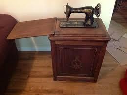 Singer Sewing Machine Desk 36 Best Singer Drawing Room Cabinets Images On Pinterest Sewing