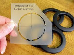 How To Sew Curtains With Grommets The Pursuit Of Happiness Diy Grommet Man Cave Curtains