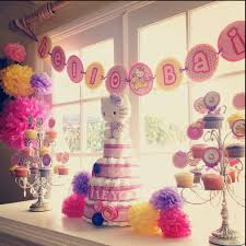 a hello themed baby shower to say hello bailey all