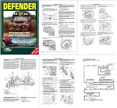 land rover defender 90 110 130 repair manual