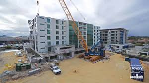 china high rise prefabricated steel structure frame building kxd