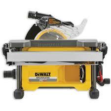 dewalt dcs7485n xr flexvolt table saw 54v body only table saws