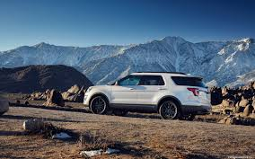 cars ford explorer cars desktop wallpapers ford explorer xlt sport 2016