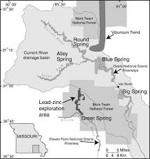 missouri caves map geologic framework of the ozarks of south central missouri