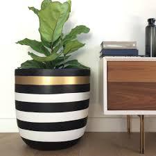 stripe planter pot design twins u2013 designtwinsusa